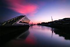 Hamburg Dockland (neisi.photography) Tags: hamburg dockland reflection docks hafen sunset
