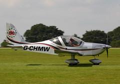 2013 Aerotechnik EV-97 Eurostar SL G-CHMW - LAA Rally 2017 - Northampton Sywell (anorakin) Tags: 2013 aerotechnik ev97 eurostar sl gchmw laarally 2017 northampton sywell