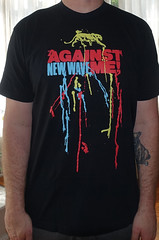 #3028A Against Me - New Wave (Minor Thread) Tags: minorthread tshirtwars tshirt shirt vintage rock concert tour merch black againstme newwave fatwreck records punk laurajanegrace sire 2007