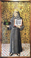 Pintura gotica sobre tabla San Antonio de Padua s. XV de Calatayud Museo de Navarra Pamplona (Rafael Gomez - http://micamara.es) Tags: pintura gotica sobre tabla san antonio de padua s xv calatayud museo navarra pamplona