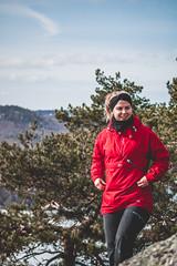 Hike 29.03.18 (HaakonDueland) Tags: hike nature walk forest animal animals pet pets pug puglife norway norwegian snow snowy cabin