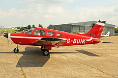 G-BUIK (111) Piper PA28-161 Cherokee Warrior II North Weald Air Britain Fly-In 17th June 2017 (michael_hibbins) Tags: gbuik 111 piper pa28161 cherokee warrior ii north weald air britain flyin 17th june 2017 aviation aircraft aeroplane aerospace aero airfields g prop props piston british uk pa 28