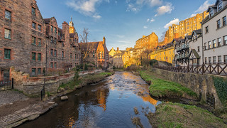 Dean Village Panorama ( Thanks for all the likes & comments In Explore :-) )