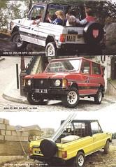 ARO 10 4X4 (Hugo-90) Tags: ads advertising brochure romania automobile aro dacia muscel suv renault