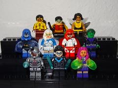 Teen Titans (GermanBrickster) Tags: dc lego minifigures minifigure bricks comics toys collection blocks custom dceu superheroes superman arrowverse cw batman flash