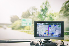 Southward (Alessandro Giorgi Art Photography) Tags: southward travelling drive driving south gps navigation car california losangeles auto macchina guidare sud nikon d7000
