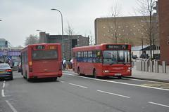 DPS30673 - 72 East Acton (Gellico) Tags: ratp london united bus route 72 east acton plaxton pointer dennis dart dps 30673