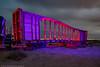 Scoliosis Railway (dejavue.us) Tags: lightpainting longexposure d850 nightphotography nikon desert 180350mmf3545 fullmoon bent nikkor vle abandoned railroad