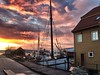 Night sky (halifaxlight) Tags: norway hordaland bergen fjord boats fisheriesmuseum sheds sky sunset ropes