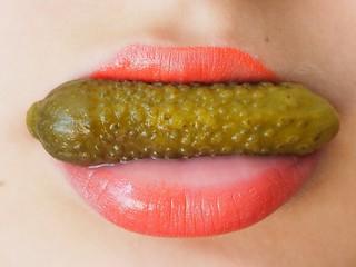 Pickle lips 👄