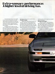 1986 Mazda RX-7 Rotary  Page 1 Aussie Original Magazine Advertisement (Darren Marlow) Tags: 1 6 7 8 9 19 86 1986 m mazda r x rx7 rotary sports s c car cool collectible collectors classic a automobile v vehicle j jap japan japanese asian 80s