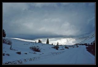 Mysteries of a Winter Evening - Colorado, 1984