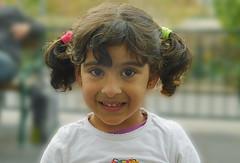 she gave me a tentative smile . . . (Heinz Rührnschopf) Tags: mädchen kind lachen smile lächeln auge mund haare