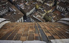 a long way down- (jdl1963) Tags: cattedrale di santa maria basilica del fiore duomo cathedral church travel tuscanny florence firenze roof italy