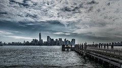 A view of NYC from Liberty Island (mickdep59) Tags: newyorkcity newyork 2017usa skyline usa