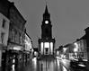 Berwick Town Hall (PJ Swan) Tags: berwick upon tweed northumberland britain england borders scotland town hall damp cold dusk