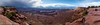 I can See for Miles and Miles and Miles... (OJeffrey Photography) Tags: grandviewpoint canyonlandsnationalpark canyon stormclouds storm monumentbasin panorama pano redrocks utah ut spring ojeffreyphotography ojeffrey jeffowens nikon d850