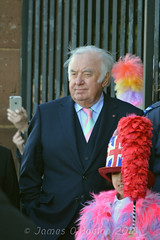 Jimmy Tarbuck (James O'Hanlon) Tags: sir ken dodd sirkendodd kendodd funeral cathedral anglican liverpool liverpoolcathedral anglicancathedral stars knotty ash knottyash squire legend comedy