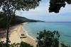 Serenity. (natureflower) Tags: naithon beach phuket thailand sea sky blue trees mountain sand serenity morning andaman