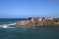 Castillo San Felipe del Morro from the Celebrity Equinox as it Entered the Port of San Juan, Puerto Rico - February 19th, 2018