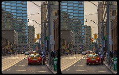 Toronto cab 3-D / CrossEye / Stereoscopy / HDR / Raw (Stereotron) Tags: toronto to tdot hogtown thequeencity thebigsmoke torontonian streetphotography urban citylife cab taxi north america canada province ontario crosseye crossview xview pair freeview sidebyside sbs kreuzblick 3d 3dphoto 3dstereo 3rddimension spatial stereo stereo3d stereophoto stereophotography stereoscopic stereoscopy stereotron threedimensional stereoview stereophotomaker stereophotograph 3dpicture 3dimage twin canon eos 550d yongnuo radio transmitter remote control synchron kitlens 1855mm tonemapping hdr hdri raw