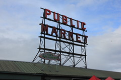 IMG_5433 (avsfan1321) Tags: seattle washington washingtonstate usa unitedstates unitedstatesofamerica pikeplace fishmarket sign neon