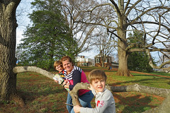 1mommonte (FAIRFIELDFAMILY) Tags: jason taylor octopus mural charlotte nc north south carolina monticello thomas jefferson historic history president united states america americana house architecture neo classical neoclassical design man michelle carson grant tree yard estate explore creek water child boy young old patagonia outside forest woods pretty winnsboro fairfield county