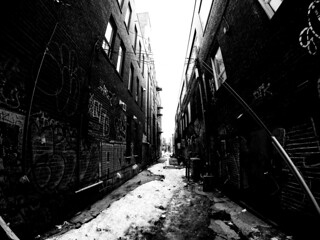 Frozen Alley