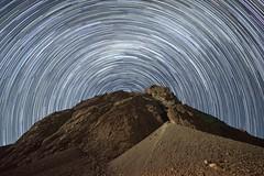 Startrail (VonFer Madness) Tags: startrail stars chile nikon nikonflickraward rokinon 10mm f28 chilean mountain longexposure