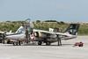 1125  'E'  Saab 105O  Austrian Air Force  Dusentrainerstaffel (Churchward1956) Tags: e 1125 airfield austrianairforce aviation bandelandavisiau brittany dusentrainerstaffel ered france horsching ntm2017 natotigermeet saab105o specialmarks tigermeet tigermeet2017