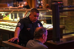 20180412-CJTipACop-LAPD-Devonshire-Server-JDS_6737 (Special Olympics Southern California) Tags: athletes claimjumper devonshire giving lapd letr northridge restaurant socal specialolympics specialolympicssoutherncalifornia tipacop fundraiser