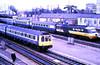 Slide 117-18 (Steve Guess) Tags: british rail hst highspeedtrain diesel unit dmu slough berks berkshire england gb uk train railway station intercity 125 l410