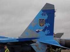 Ukraine Air Force Su-27 (Kylie Stevens) Tags: avgeeks airshow airshows avgeek jet jetporn jetphotography jetnoise riat15thjuly2017 ukraine ukraineairforce su27 sukhoi airforce jetpower