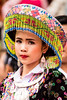 Woman during the procession of Lao New Year (Nang Sangkhan) (Mevout) Tags: woman mujer femme festival water eau agua laos luang prabang tradition costume hat gorro sombrero chapeau beauty belleza beaute parade procesión manifestation eyes ojos yeux look mirada regarde intense intenso tradicional traiditionnelle asia