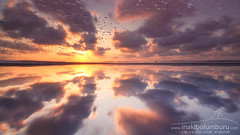 SALTY SKY (Obikani) Tags: salinas torrevieja alicante reflection sunset sky game visual surreal amazing landscape clouds sun water salt nature spain