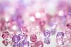 Scattered (Amy Maher) Tags: bokeh mirror dof purple pink beads 105mm nikond750 macro plastic macromondays