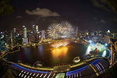 Singapore fireworks from MBS! (Tom Helleboe) Tags: singapore marinabaysands sg50fireworks