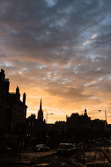 Candlemaker Sunset (grobigrobsen) Tags: edinburgh scotland schottland unitedkingdom greatbritain city urban travel nightfall sundown evening sky dark