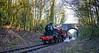 Flashback (Peter Leigh50) Tags: crab birstall great central railway rural railroad rail bridge train steam locomotive engine trees track fuji xt10 fujifilm