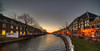 Nieuwe Gracht, Haarlem. (Alex-de-Haas) Tags: oogvoornoordholland 11mm d850 dutch februari hdr haarlem holland irix nederland nederlands netherlands nikon noordholland photomatix avond binnenstad bluehour building canal capital center centrum city dusk gebouw hoofdstad house houses huis huizen innercity kanaal life nacht night schemering stad stadsfotograaf straat street structure sundown sunset town twilight urban water winter woning woningen zonsondergang nl