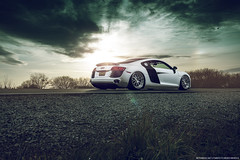 Audi R8 for Aristo Forged Wheels (Richard.Le) Tags: richard le automotive photography commercial car exotic luxury sony a7rii aristo forged wheels collection auto vault inc sacramento california sunset sunrise profoto b1 air lift performance suspension airride ride white helicopter flickr popular explore hashtag tag follow like