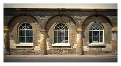 P6180006 (ikkio_too) Tags: townhall alcester arches windows 3 olympus omdem1 zmd918mm picasa