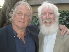 Jan Cremer en Ewald Vanvugt (IISG) Tags: ewaldvanvugt male jancremer schriver author mannen men