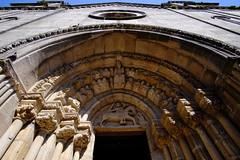 [Arquivolta | Voussure ] Sta. María de Azogue [SigloXIV] (Woopi) Tags: arquitectura gótico acoruña cantería