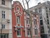 Ornate red house, now UniCredit Bulbank, Ivan Vazov Ulica, Plovdiv, Bulgaria (Paul McClure DC) Tags: plovdiv bulgaria balkans пловдив българия feb2018 historic architecture