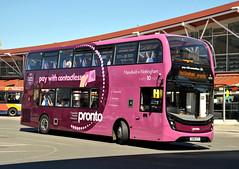 SN18KTT Stagecoach East Midlands 10979 (martin 65) Tags: adl e400 enviro enviro400 mmc pronto mansfield nottinghamshire road transport public stagecoach eastmidland group vehicle bus buses