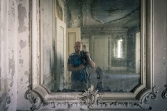 'Mirror Palace'.... (Taken By Me Photography) Tags: takenbyme takenbymephotography abandoned adventure building closed centre corridor derelict decay dark door d750 demolished explore exploring empty forgotten gone left lost mirror me nikon neglect ruin shut urbex urban ue wwwtakenbymephotographycouk walls window