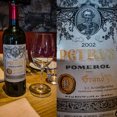 Petrus – Pomerol – 2002 #redwine #winetasting #winelover #winery #winetime #instawine #winecountry #winelovers #winetasting #wineaddict #winetime #winepairing #mywinemoment #winewednesday #winedownwednesday #winesofinstagram #wineoclock #wineoftheday #win (monsieurbaye) Tags: wineaddict instagood photooftheday redwine winetime mywinemoment wineoftheday instawine winecountry winesofinstagram winelover wineoclock petrus winelovers winepairing winetasting winery winestagram winewednesday winedownwednesday