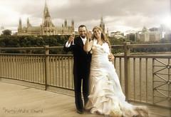 Jour du bonheur total ... ( P-A) Tags: mariage union célébration joie rire amour passion homme femme pontalexandra flûtes champagne sépia collineparlementaire photos simpa˙©