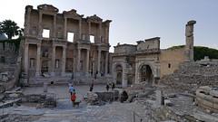 Backlit Library (grinnin1110) Tags: mediterraneancruise library kusadasi turkey asia vacation2015 ephesus acarlarköyü izmir tr